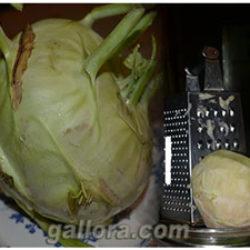 Вкусные и полезные блюда из капусты кольраби.