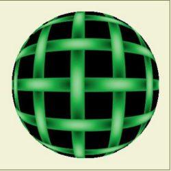 Урок по созданию анимации  в фотошопе «Вращающийся шар».