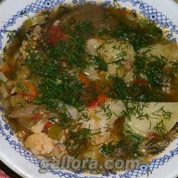 Рецепт вкусного овощного рагу.