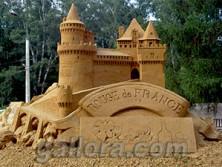 песочная скульптура франция